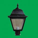 Luminaria punra de poste campestre