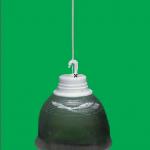 campana de acrilico de 16 blanca